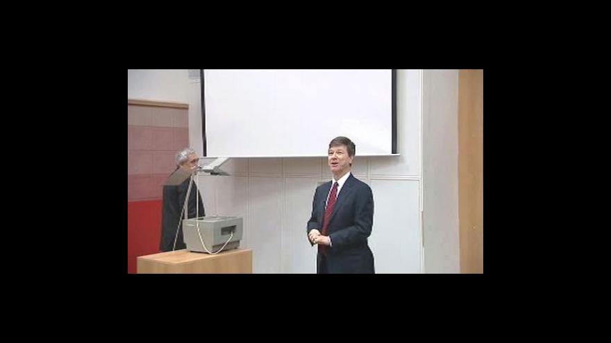 Video Přednáška Jeffreyho Sachse - 1. část
