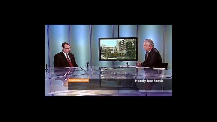 Video Ekonomika ČT24: Hotely bez hostů