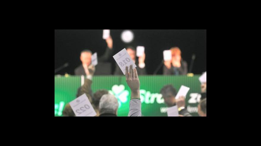 Video Události o sjezdu zelených
