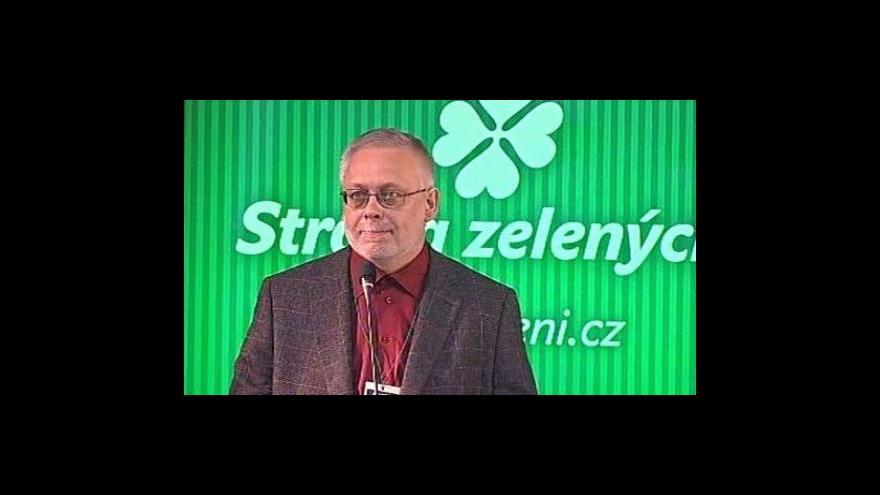 Video Kandidátský projev Josefa Jadrného na předsedu SZ