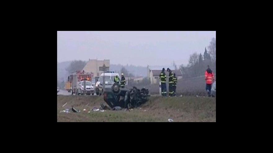 Video Dopravní nehoda u Kuřimi