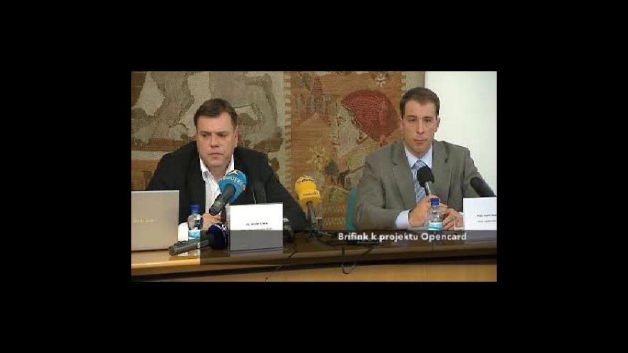 Video Brífink Václava Krause k Opencard