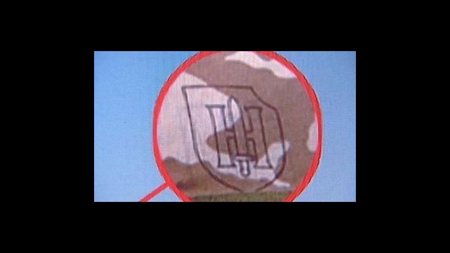 Video Symboly SS zřejmě nosil další český voják