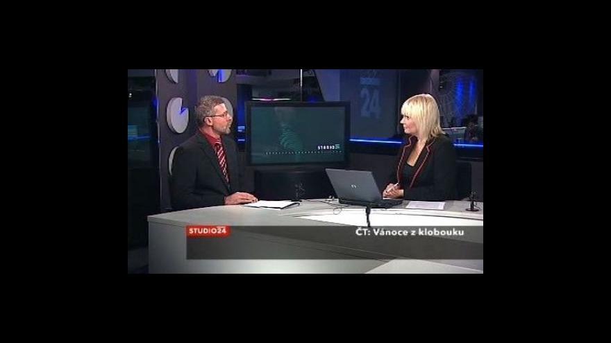 Video Ladislav Šticha ve Studiu ČT24
