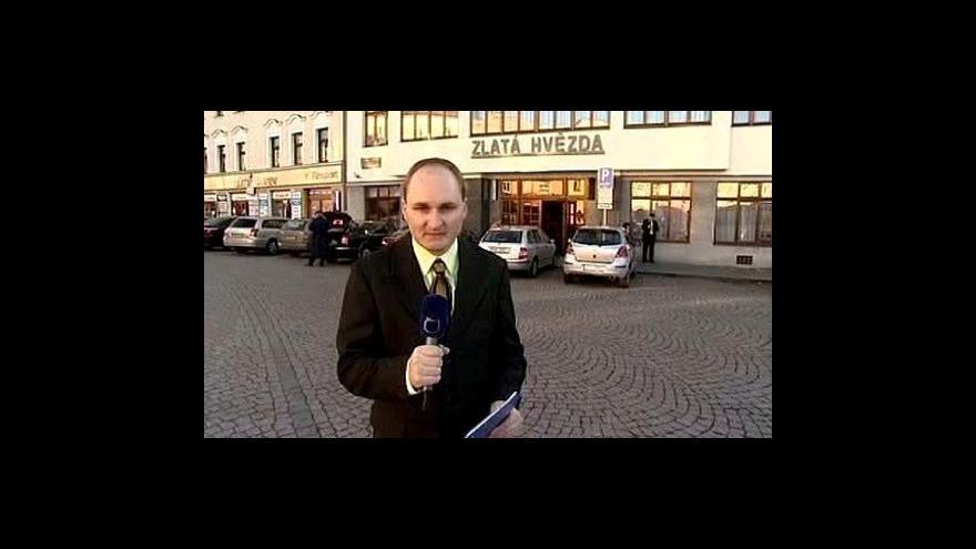 Video Reportáž Michala Klokočníka a živý vstup Jiřího Pospíšila
