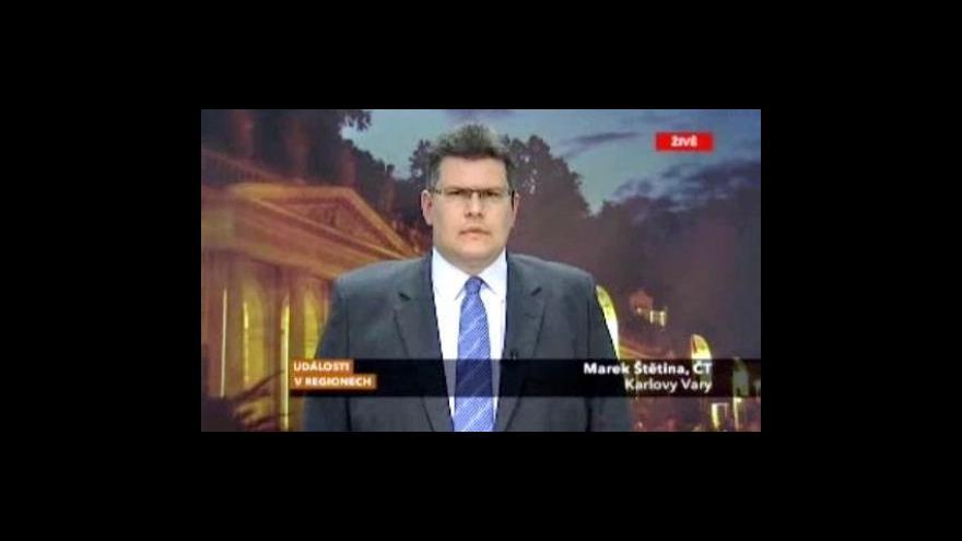 Video Reportáž a vstup Marka Štětiny