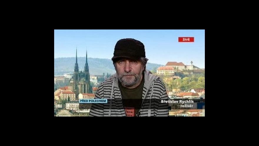 Video Herec Břetislav Rychlík ve Studiu ČT24