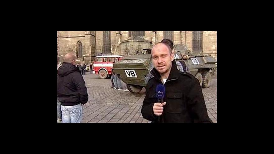 Video Reportáž Karla Vovesného z Plzně