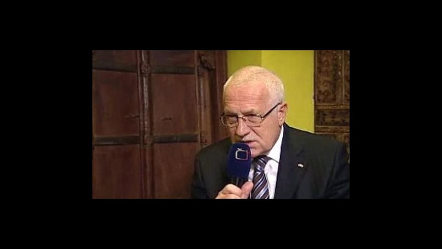 Video Exkluzivní rozhovor s Václavem Klausem