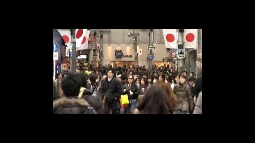 Video Japonskou ekonomiku vytahují z krize smělí spotřebitelé