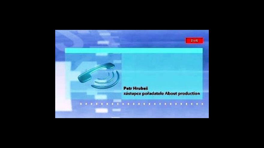 Video Telefonát Petra Hrubeše