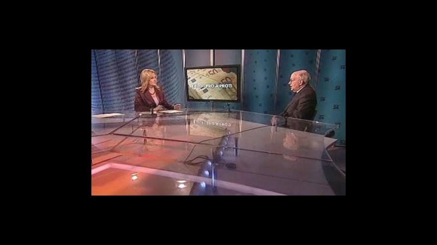 Video Martin Feldstein hostem Událostí, komentářů