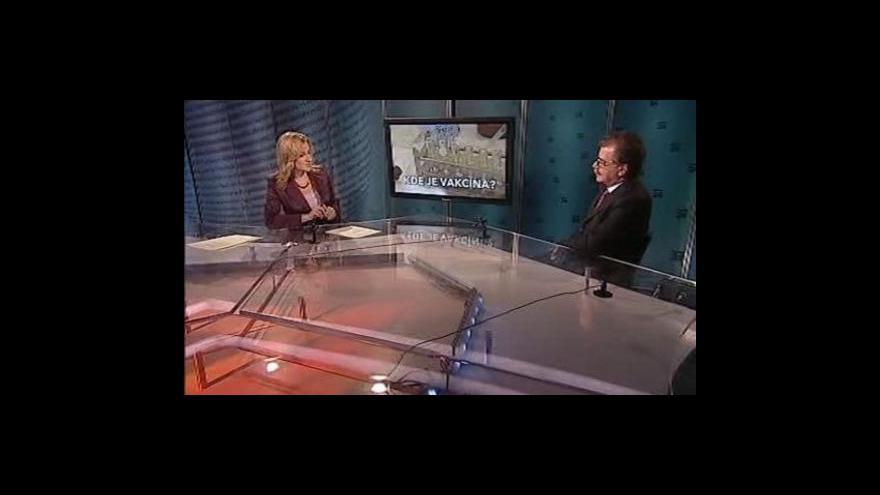 Video Michael Vít hostem Událostí, komentářů