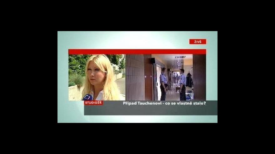 Video Advokátka Klára Slámová ve Studiu ČT24