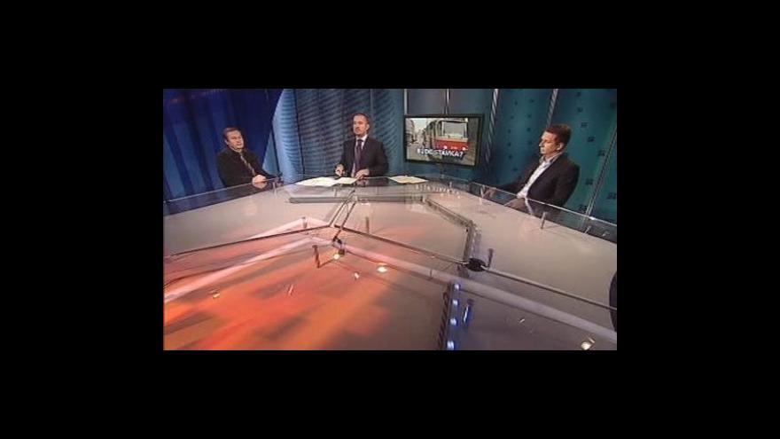 Video Oldřich Schneider a Martin Dvořák hosty Událostí, komentářů