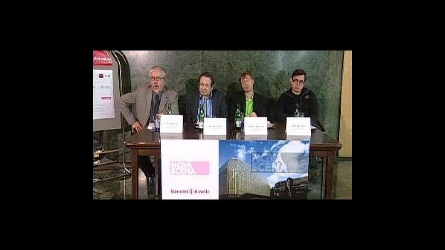 Video TK Národního divadla k Nové scéně