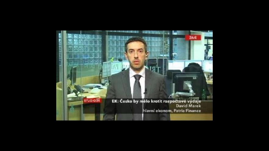 Video Komentář Davida Marka