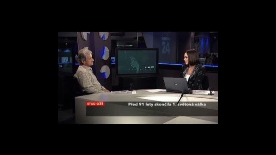 Video Studio ČT24 - Před 91 lety skončila 1. světová válka