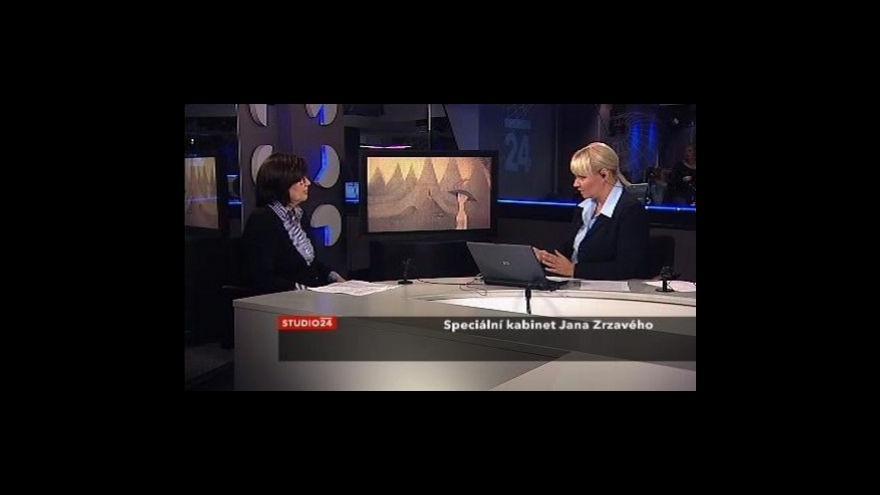Video Kurátorka Zuzana Novotná o speciálním kabinetu J. Zrzavého