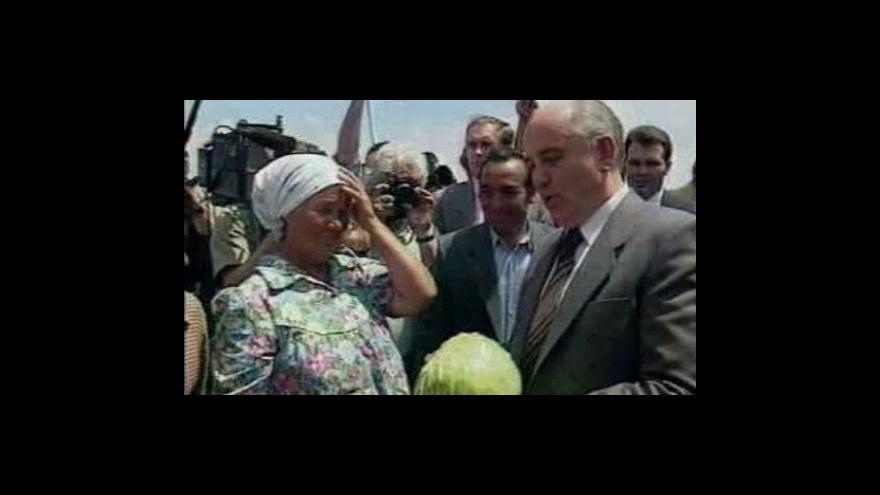 Video Rozhovor s Eduardem Ševardnadzem