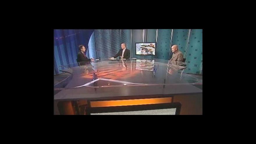 Video Jiří Šedivý a Jan Gazdík v pořadu Události, komentáře