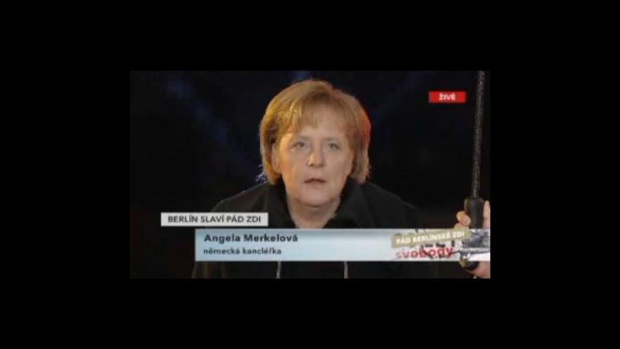 Video Speciál Pád Berlínské zdi: Projevy státníků