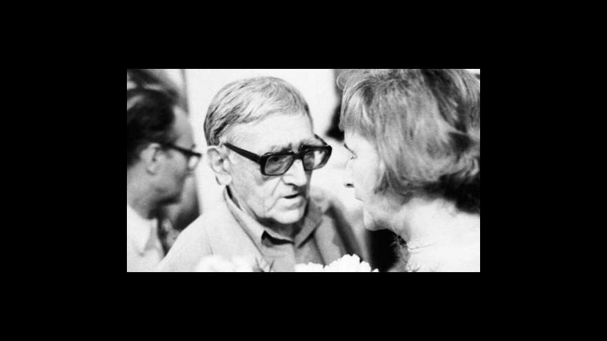 Video Jiří Trávníček o Janu Skácelovi