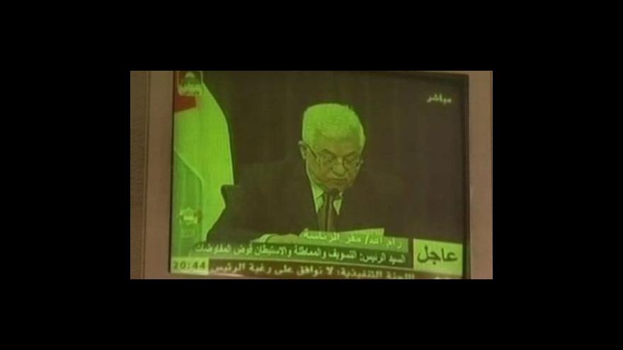 Video Abbás nehce kandidovat