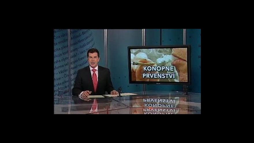 Video Události, komentáře o drogách v Česku