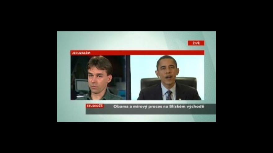 Video Studio ČT24 - Obama byl před rokem zvolen prezidentem