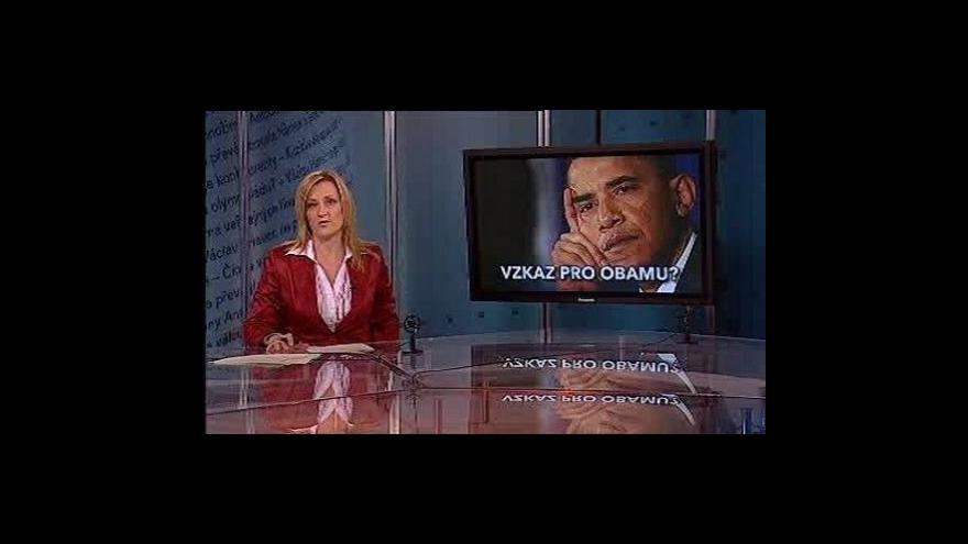 Video Události, komentáře o Baracku Obamovi