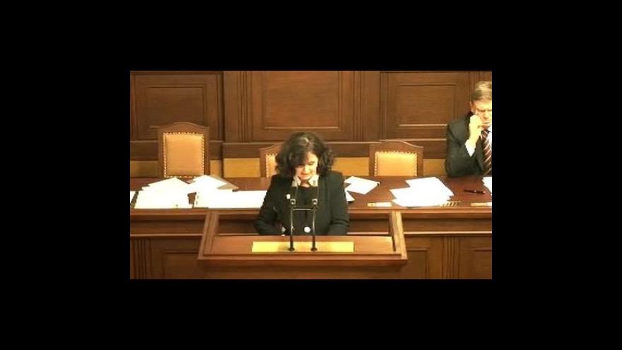 Video Vládní zpráva o situaci na plzeňských právech