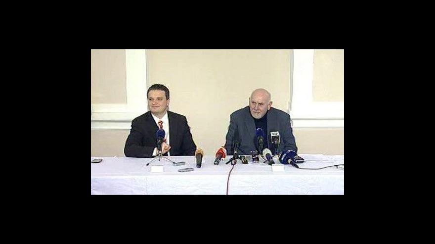 Video Brífink předsedy ÚS Pavla Rychetského
