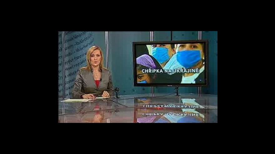 Video Události, komentáře o chřipce a Ukrajině