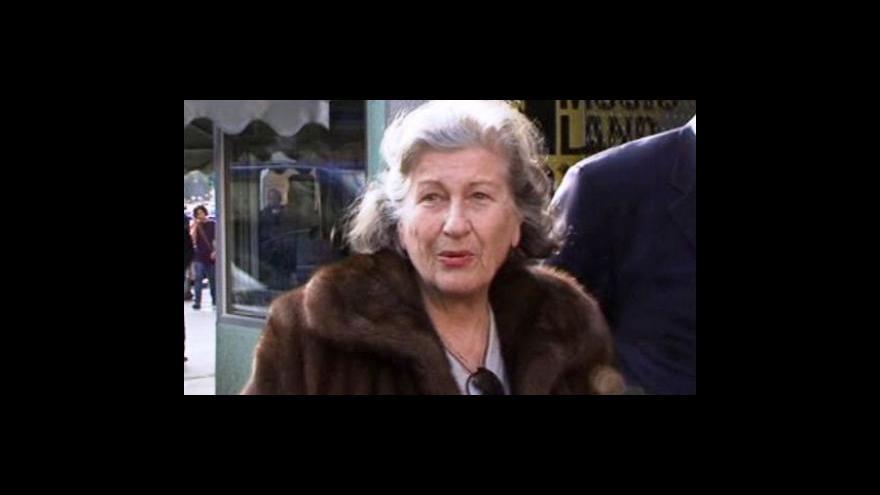 Video Plavšičová je po devíti letech na svobodě