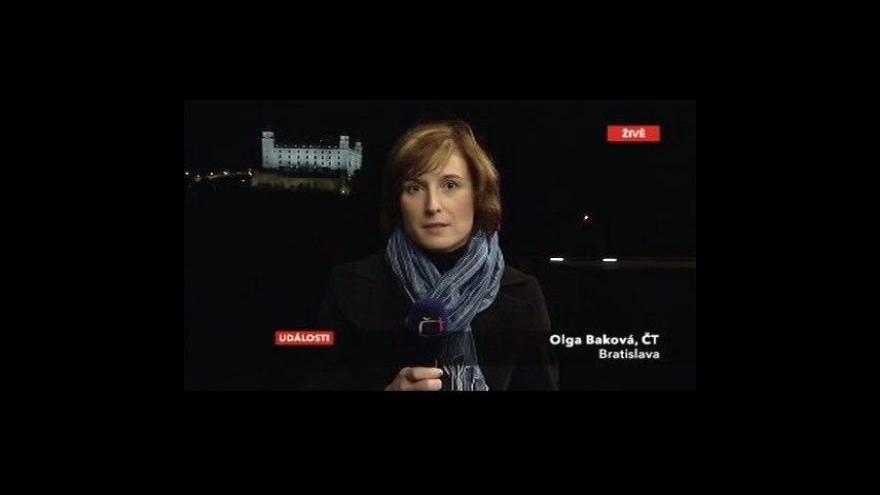 Video Vstup Olgy Bakové z Bratislavy