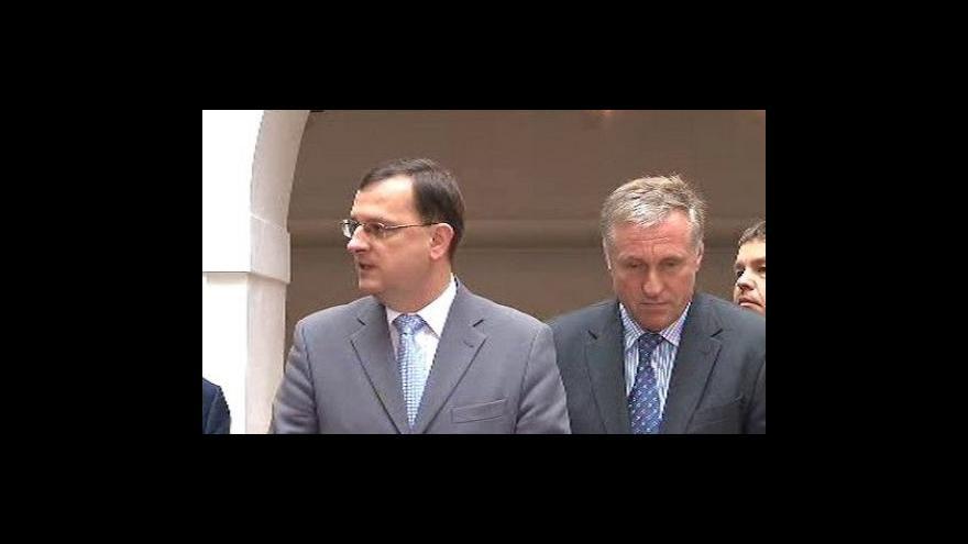 Video Brífink ODS k Fischerovým prioritám