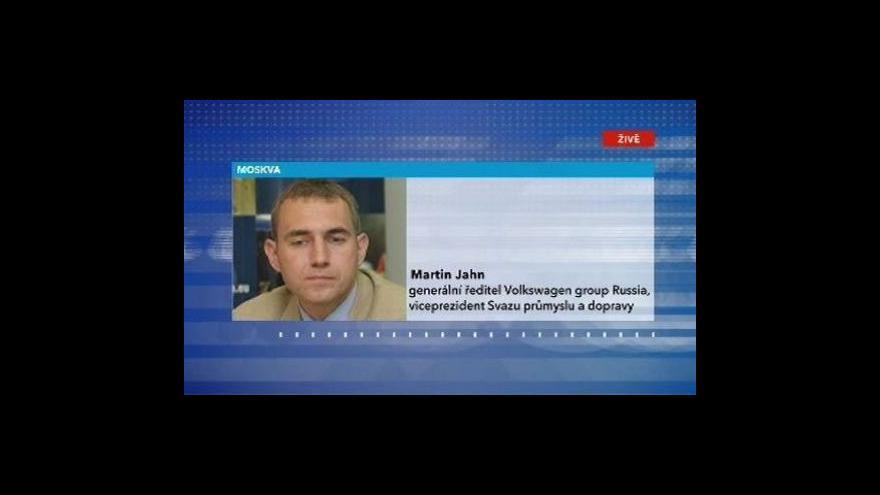 Video Telefonát Martina Jahna