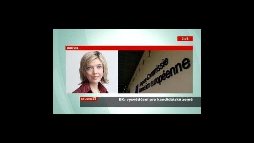Video Studio ČT24: Telefonát Barbory Šámalové