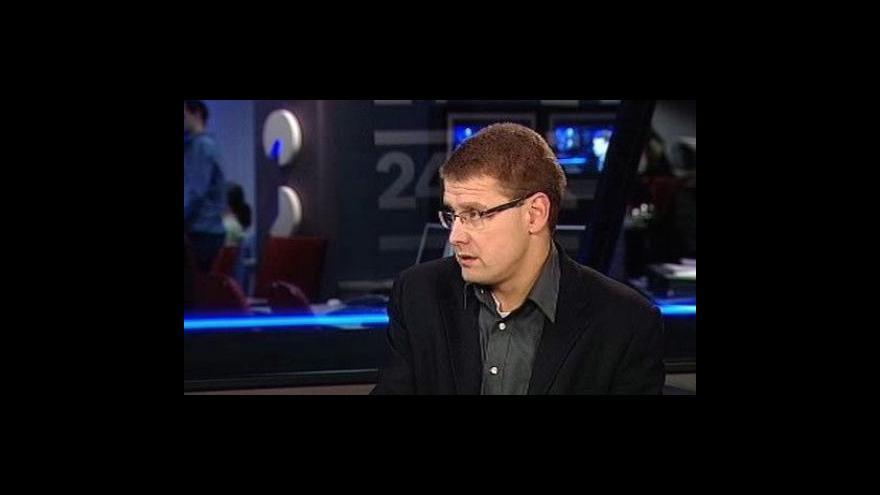 Video Analytik Jindřich Šídlo ve Studiu ČT24