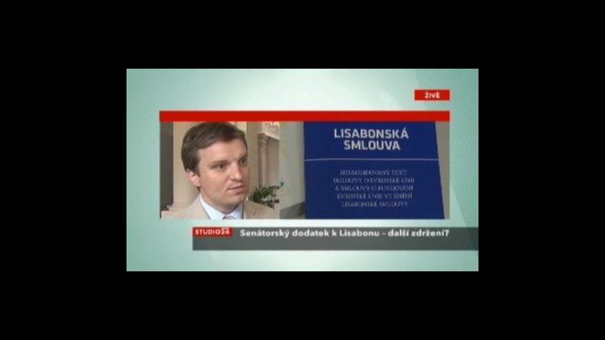 Video Tomáš Langášek ve Studiu ČT24