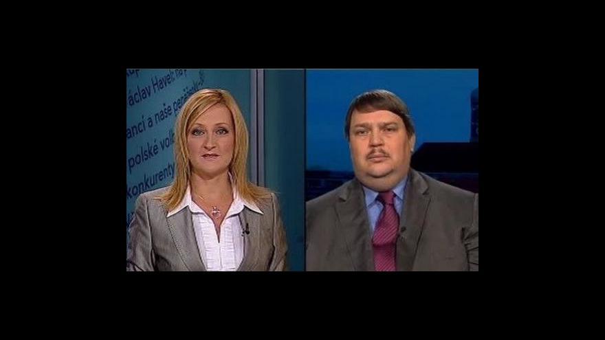Video Události, komentáře o Lisabonské smlouvě a Benešových dekretech