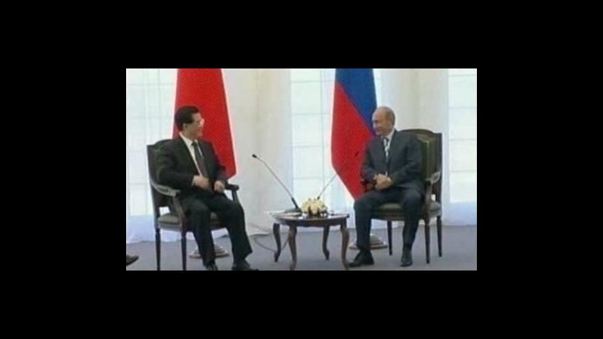 Video Putin bude v Číně jednat o obchodu