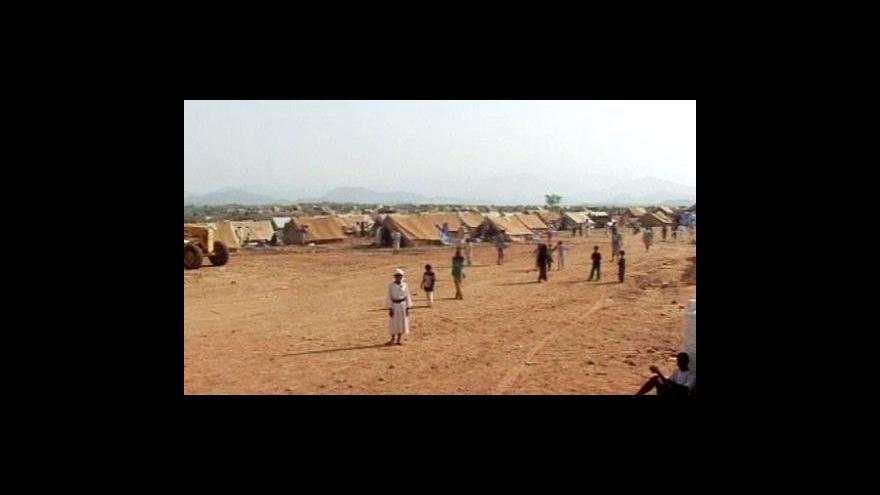 Video Boje na severu Jemenu vyhnaly z domů přes 100 tisíc lidí