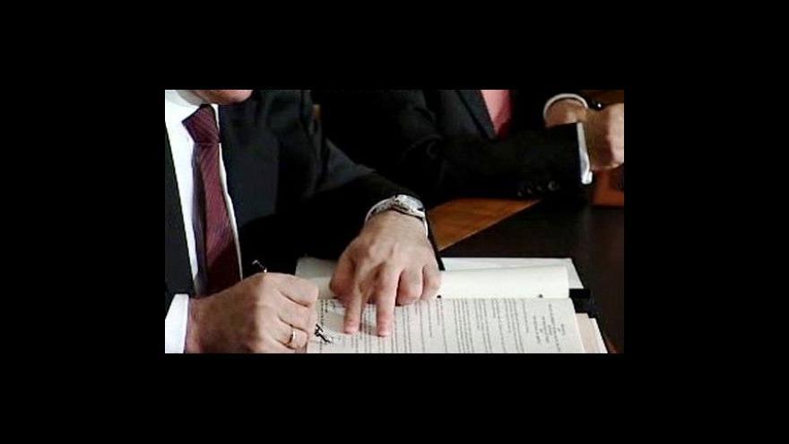 Video Turecko a Arménie nakonec podepsaly vzájemné dohody