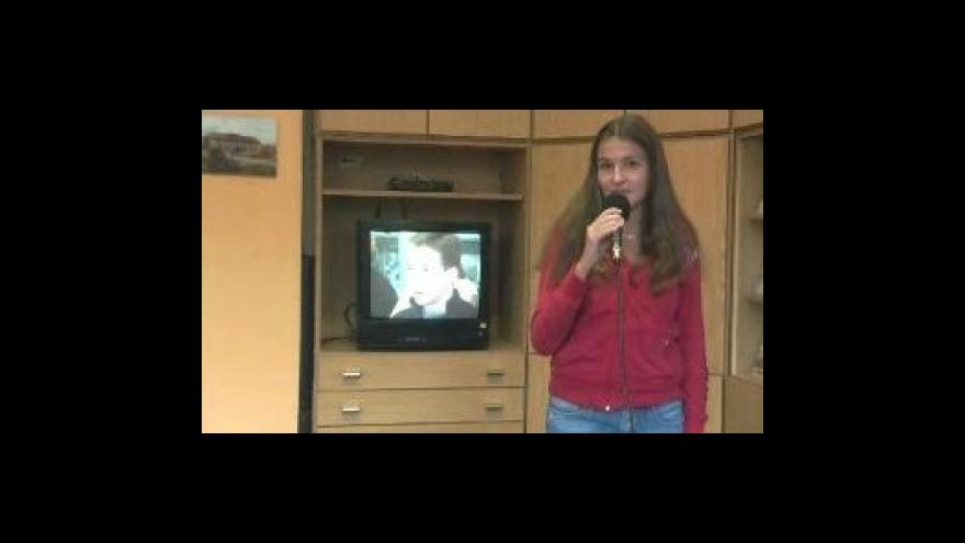 Video Reportáž Petry Šnajdrové