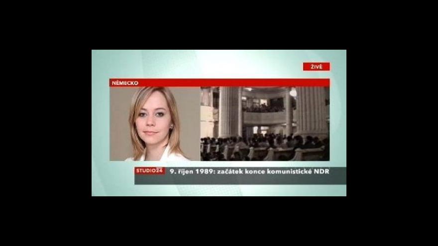 Video Přípravy oslav v Lipsku