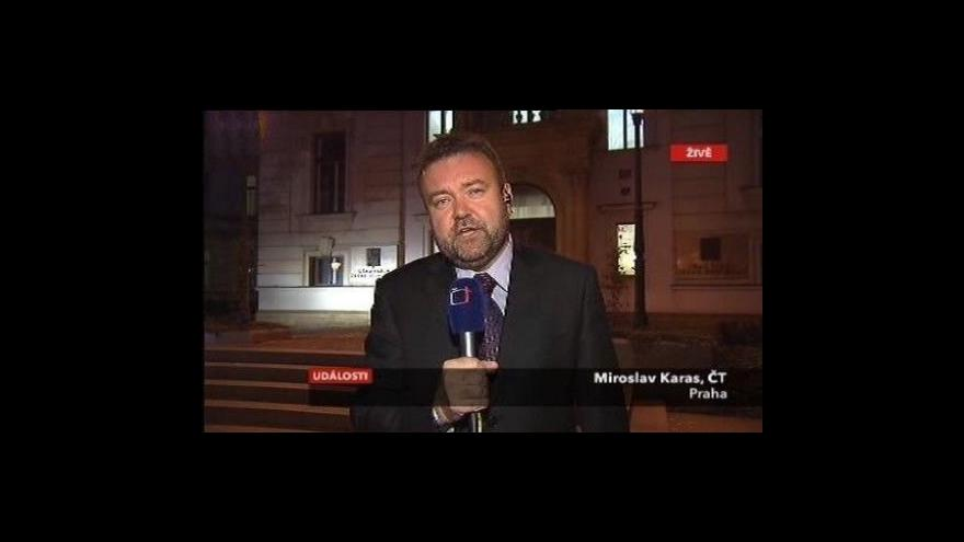 Video Živý vstup Miroslava Karase