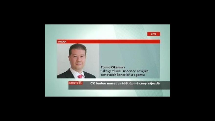 Video Telefonát Tomia Okamury