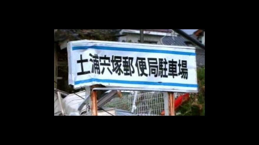 Video Tajfun Melor zasáhl Japonsko